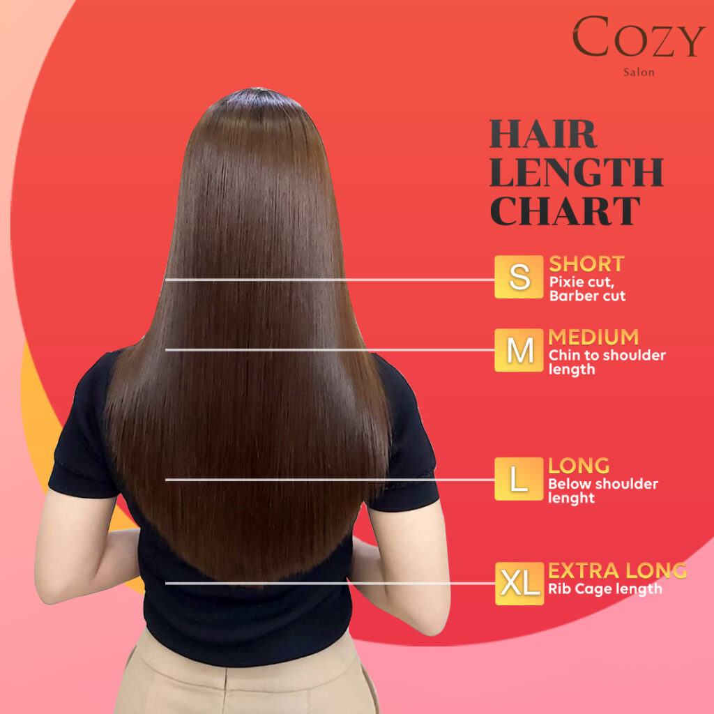Cozy Hair Size Chart